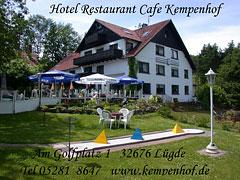 Externer Link: Hotel, Cafe und Restaurant Kempenhof
